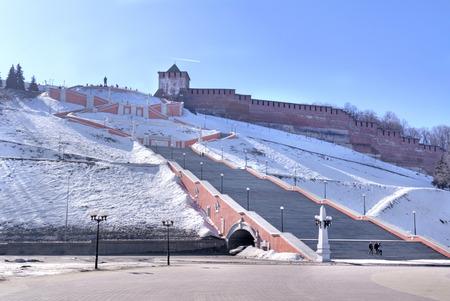 novgorod: Nizhny Novgorod. Kremlin Wall