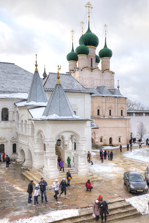 eldest: ROSTOV, RUSSIA - January 03.2015: Eldest city of Russia. Included in the Gold Ring of Russia. Kremlin is in city Rostov