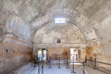 Pompeii is an ancient Roman city near Naples, in the Campania region, buried under a layer of volcanic ash as a result of the eruption of Vesuvius in the second half of October 79 AD. e. Bathhouse