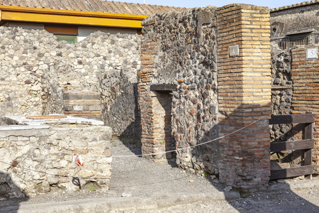Pompeii is an ancient Roman city near Naples, in the Campania region, buried under a layer of volcanic ash as a result of the eruption of Vesuvius in the second half of October 79 AD. e. Snack Bar
