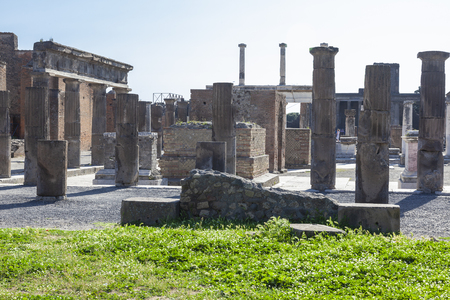 Pompeii is an ancient Roman city near Naples, in the Campania region, buried under a layer of volcanic ash as a result of the eruption of Vesuvius in the second half of October 79 AD. e.