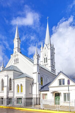 Evangelical Lutheran Church of St. John in the city of Grodno. 1793 year. Republic of Belarus