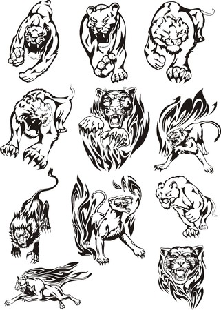 plotter: Lions for plotter cutting