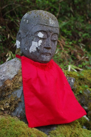 Stone Buddha image in Nikko Stock Photo - 19653422