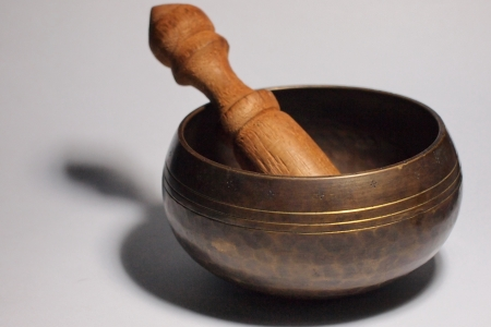 Tibetan Singing Bowl Stock Photo - 19860318