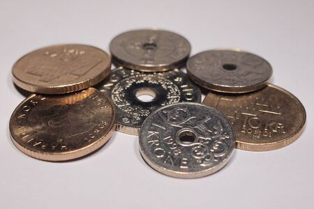 Collecttion of Norwegian coin