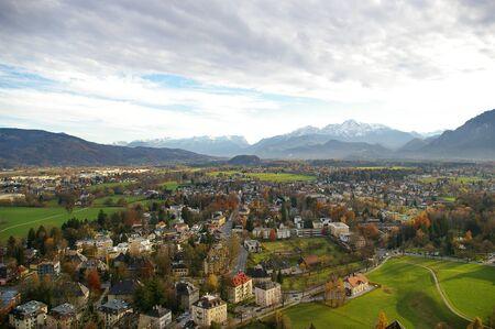 Cloudy day at Salzburg, Austria
