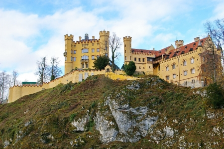 Hohenschwangau Castle Editorial