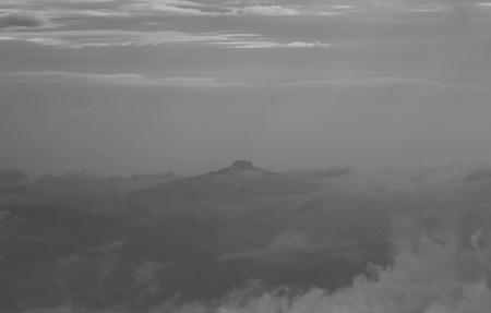 soft fog view background,mountain,Phu PA po,blackandwhite,gain