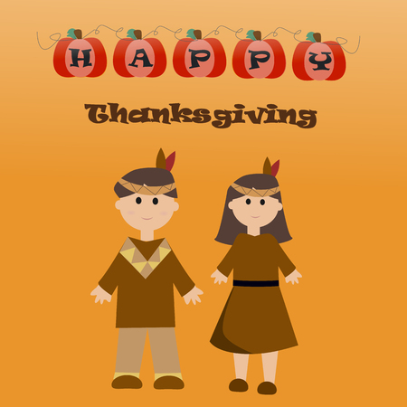 thanks giving: Happy Thanks giving vector.