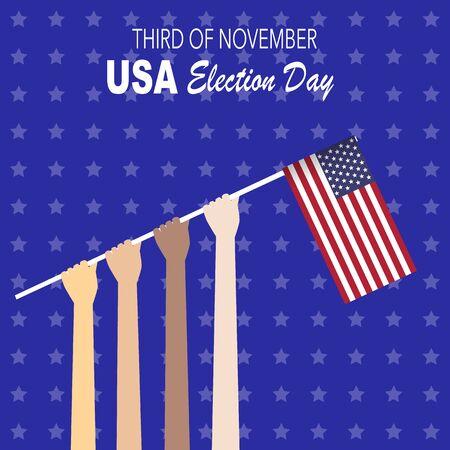 senate: American election 2016  vector illustration. Illustration