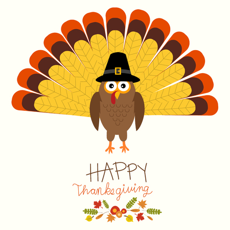 Happy Thanks giving vector.