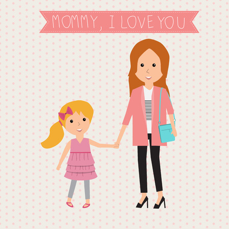 parenthood: Happy mothers day Illustration