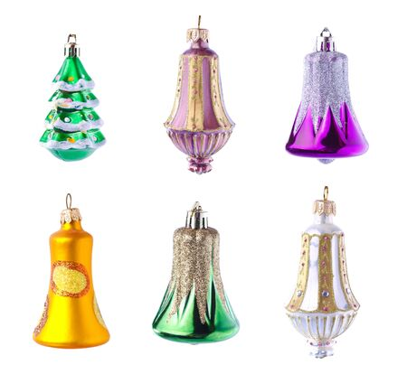 set of christmas tree decoration Stock Photo - 13032339