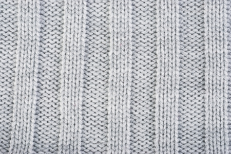 Knit woolen texture, close up photo