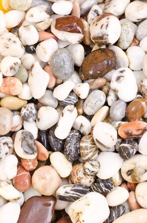 a texture from pebbles Stock Photo
