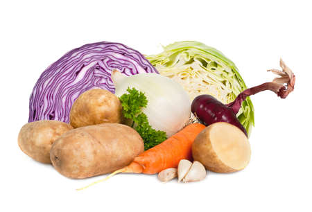 group of vegetables photo
