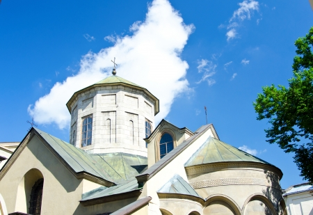 Armenian church in Lviv  (Ukraine) Stock Photo - 16138567