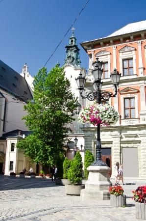 Old city   Lviv,Ukraine  Stock Photo - 16138510
