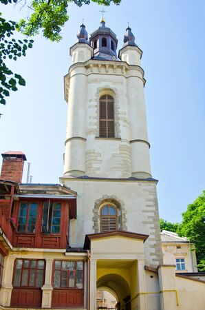 Armenian church in Lviv   Ukraine  Stock Photo - 16138521