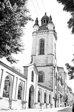 Armenian church in Lviv  (Ukraine) Stock Photo - 16138469