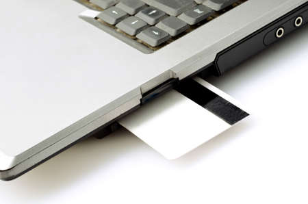 online banking on computer Stock Photo - 17445595
