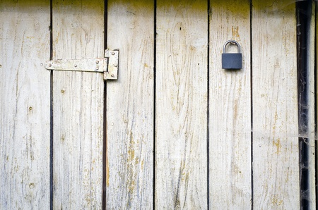 Old grungy wooden door texture Stock Photo - 22147009