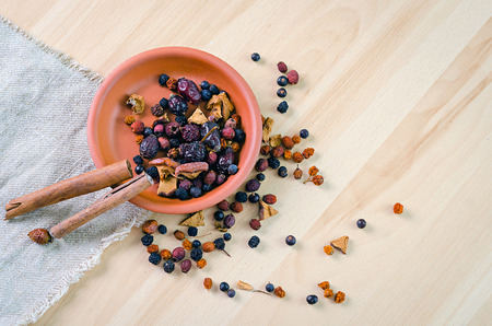 apple sack: tea from the dried berries