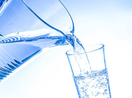 a glass of water photo