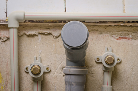 fixer: a mount new pipe on wall