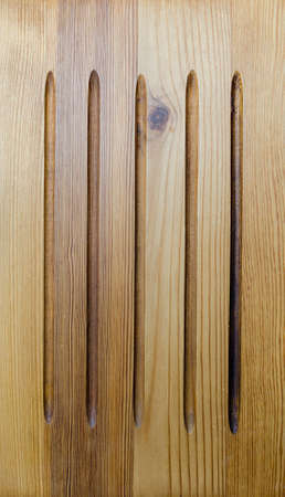 chink: the old wooden brown background with vertical lines