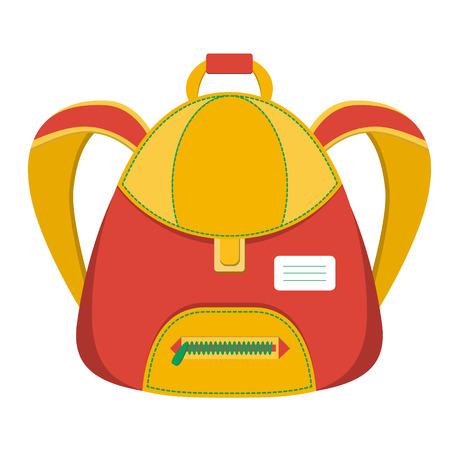 schoolbag: schoolbag, vector icon backpack