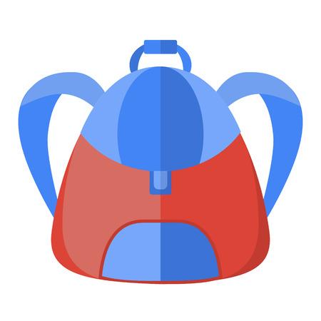 schoolbag: vector schoolbag, vector icon backpack
