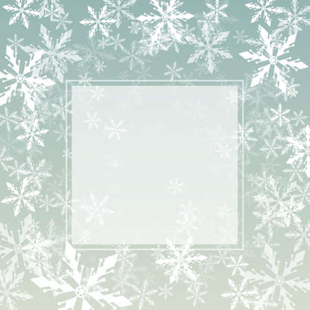 spangle: Vector Christmas background with snowflakes swirl for greeting cards, invitations, posters and flyers.