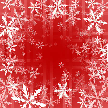 spangle: Christmas background with snowflakes swirl Illustration