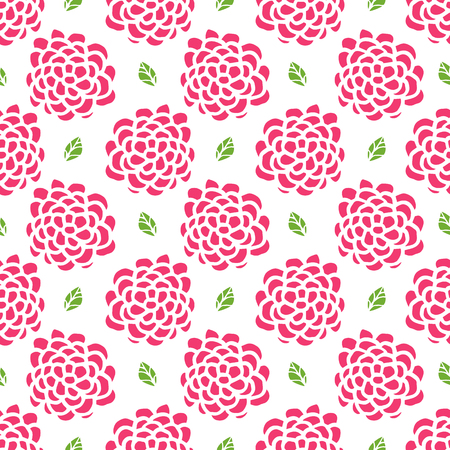 seamless: Seamless floral pattern Hand Drawing. Illustration