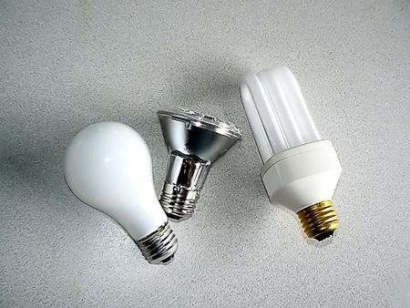 Incandescent, halogen and fluorescent electric bulbs