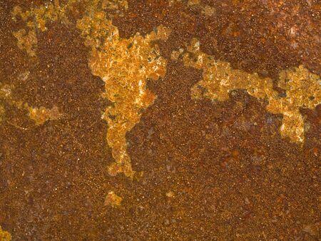 oxidado: Rusty Old superficie de metal