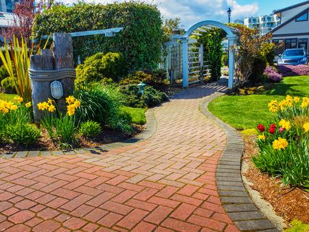 Seawalk in Sidney, Vancouver Island, British Columbia