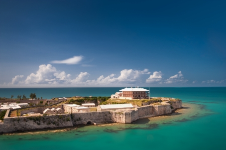 Comissioner s house in King s Warf, Bermuda