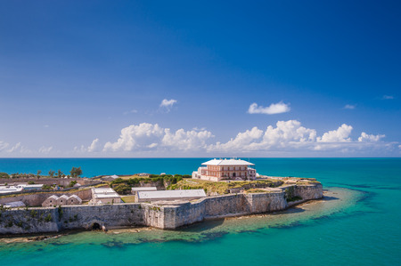 dockyard: View from above on the Commissioner Stock Photo