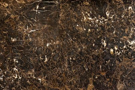 Dark brown colored emperador dark marble slab texture Stock Photo
