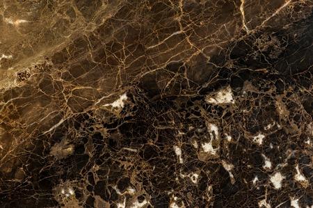 Dark brown colored emperador dark marble slab texture Standard-Bild