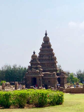 Shore temple in Mahabalipuram, Tamilnadu, India.