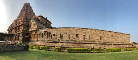 Brihadeeswarar temple in Gangaikonda Cholapuram, Tamil nadu, India