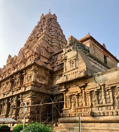 Brihadeeswarar temple in Gangaikonda Cholapuram, Tamil nadu, India Stock Photo