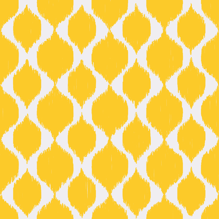 Ikat fabric texture seamless pattern abstract background vintage oriental