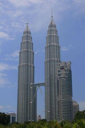 kuala lumpur tower: The Petronas Twin Towers