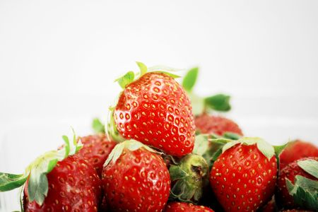 mouthwatering: Fresh and Juicy mouth-watering Strawberries