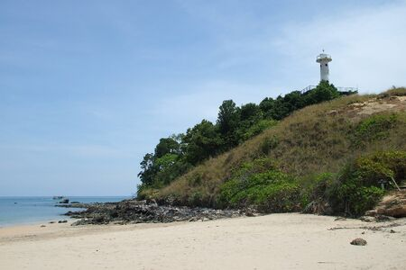 Lighthouse on the Lanta island, Thailand.